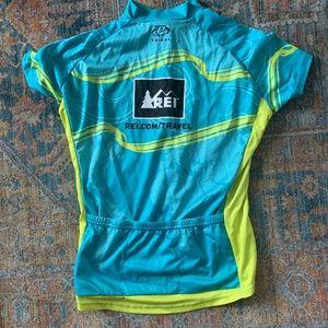 REI cycling jersey